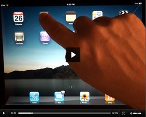 Get more use from your iPad! Check out these simple video tutorials!