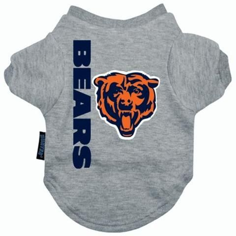 various colors 92eb5 255b4 Chicago Bears Dog Tee Shirt | NFL II Posh Puppy Sports in ...
