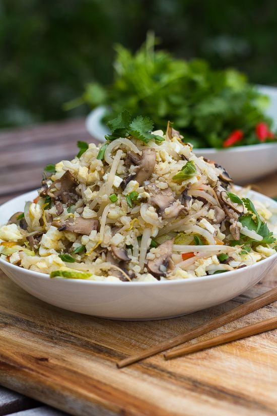 Cauliflower Fried Rice - Low-Carb, Grain-Free and ...