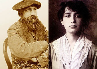 Auguste Rodin and Camille Claudel