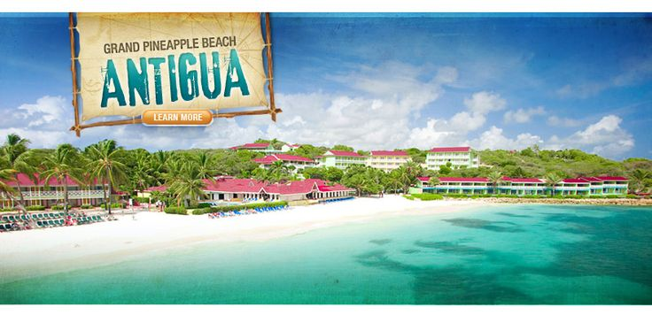 Affordable All Inclusive Caribbean Vacations: Grand Pineapple Family Beach Resorts in Jamaica & Antigua