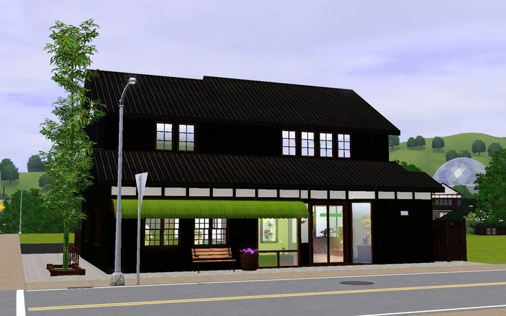 """Mod The Sims - Japanese style store """"Consignment store"""""""