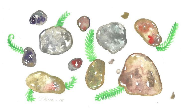 Buy Stones, Watercolour by Niina Niskanen on Artfinder. Discover thousands of other original paintings, prints, sculptures and photography from independent artists.