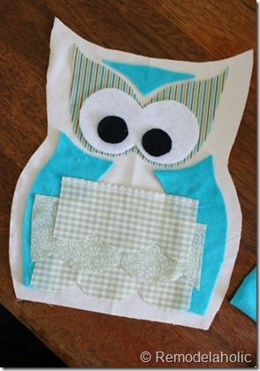 free owl pillow pattern