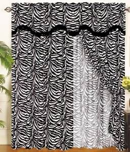 Zebra Decor - Find trendy zebra print room decor, bedding, wall art