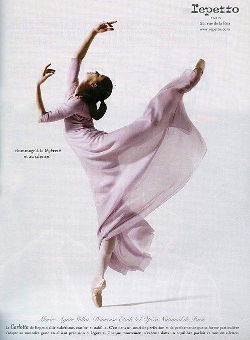 Repetto's Campaign with Marie-Agnès Gillot, Prima Ballerina