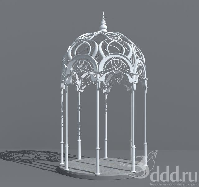 elvish gazebo elven stuff pinterest gazebo. Black Bedroom Furniture Sets. Home Design Ideas