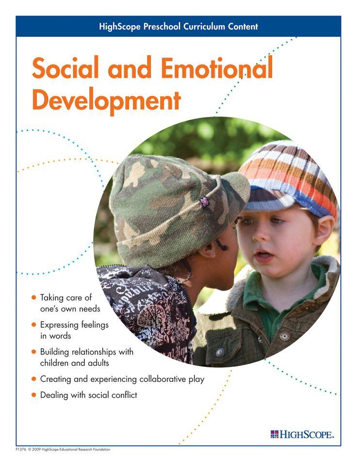 Social and Emotional Development - HighScope Preschool Curriculum Content