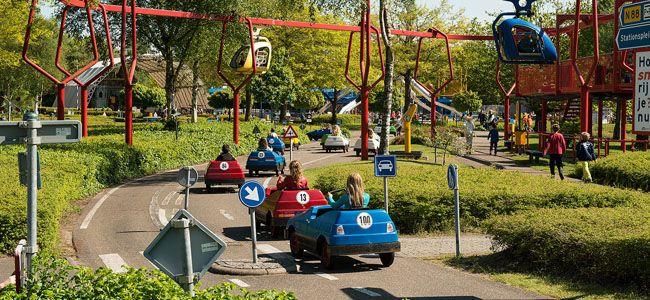 Zo ligt het Verkeerspark Assen er nu bij: drone filmt verlaten en vervallen themapark   Flabber