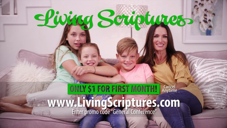Living Scriptures Streaming General Conference Special. Start streaming today for only $1 with coupon code CONFERENCE.