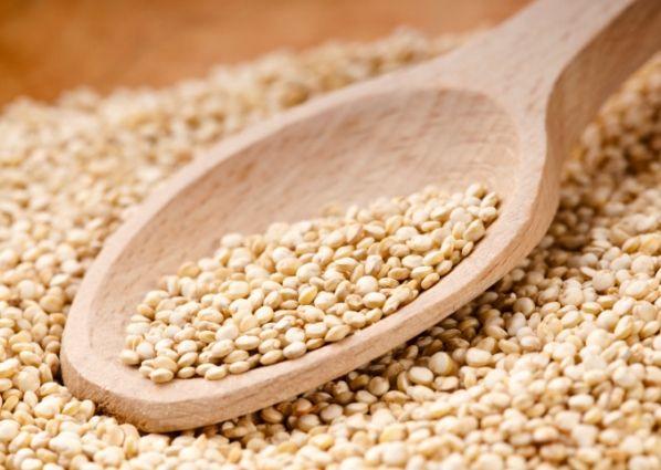 20 alimentos que queman grasas - 2: Quinoa