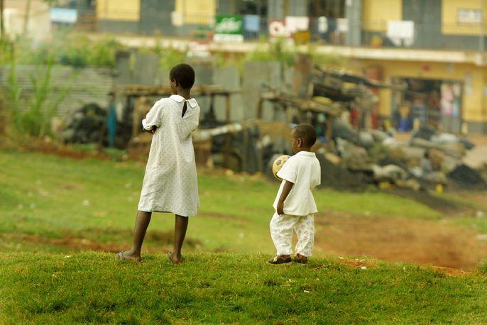 Looking to a better future, Bugalobi, Uganda