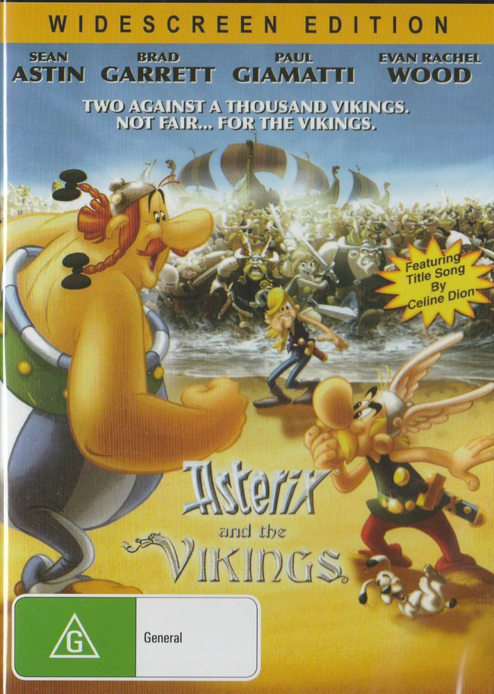ASTERIX AND THE VIKINGS DVD - NEW & SEALED