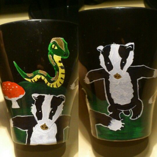 Badgers cup sharpie