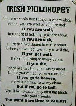 Old Irish Proverb