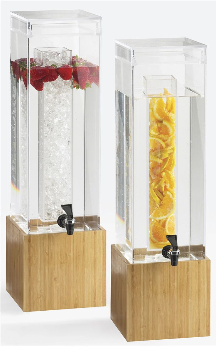 Water Dispenser: Creative Breakfast Concepts