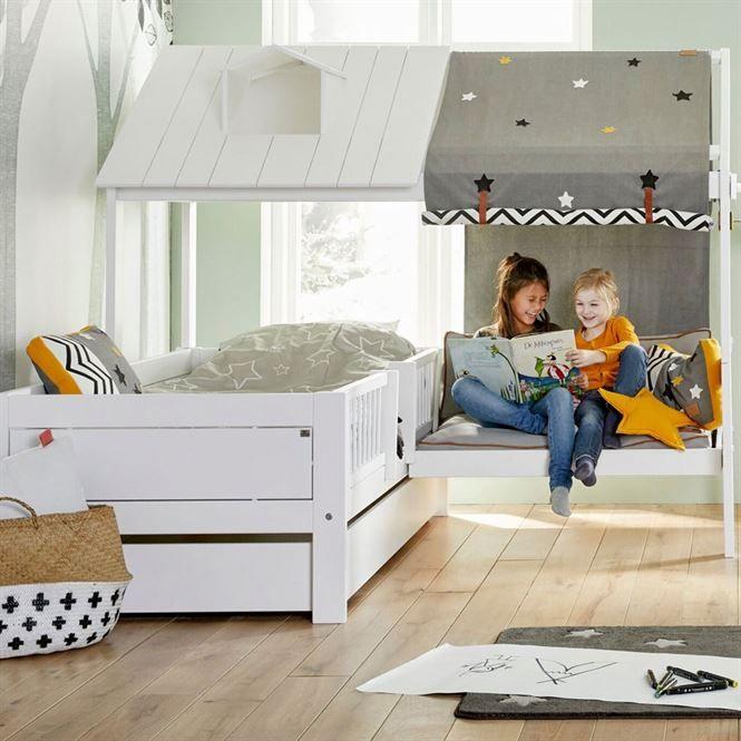 Lifetime Beachehouse Bett Mit Sitzplatz Kinderzimmerhaus Bett