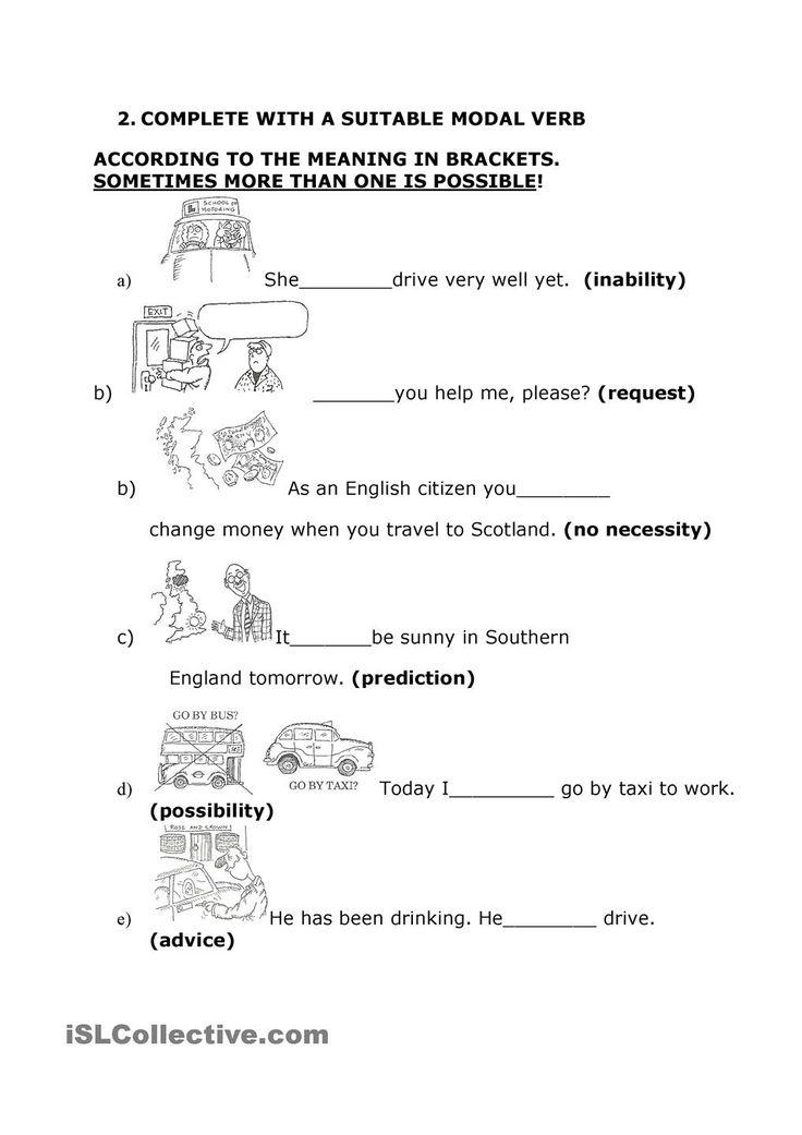 esl modal verbs exercises pdf