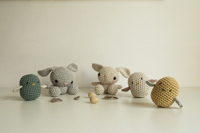 la casita: A bunch of creatures - links to free patterns