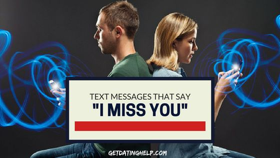 "Text Messages | I Miss You | Dating Texts | What can you say to someone that you've said, ""I miss you,"" to a million times before? Try one of these I miss you texts. http://www.getdatinghelp.com/flirting/i-miss-you-text-messages/"