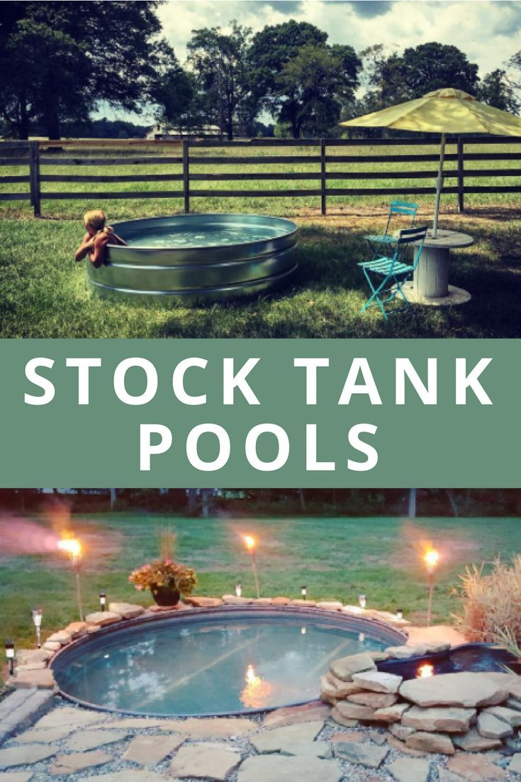Latest Pool Stock Tank Pools Are The Latest In Backyard Design And Youu0027re Going To Want  One - Avoiding the cost and time of installing an in-ground pool, ...