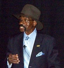 """Rubin """"Hurricane"""" Carter (May 6, 1937 – April 20, 2014) was an American middleweight boxer best known for having been wrongfully convicted for murder and later exonerated after spending 20 years in prison."""