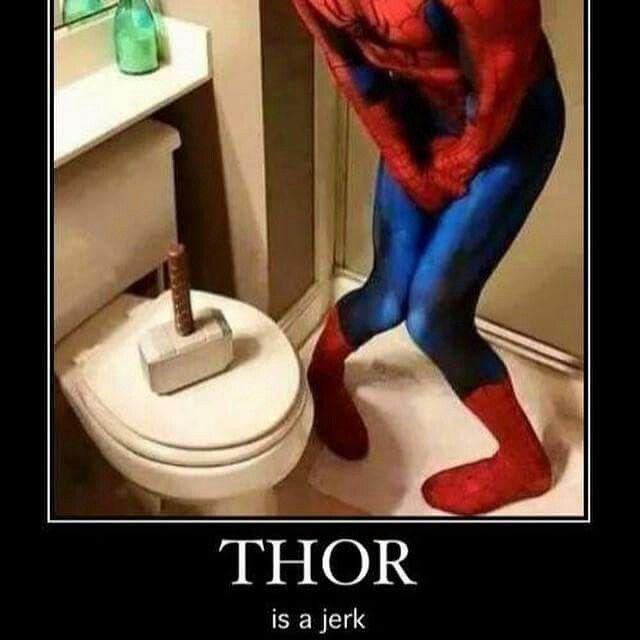 LOL #Thor #Marvel