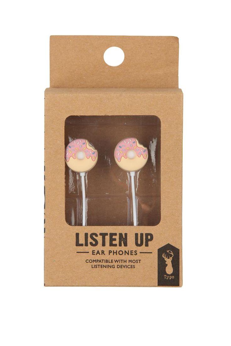 novelty earphones   Cotton On