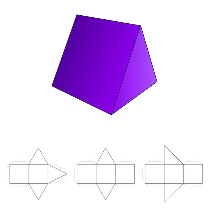 12 nets of 3d shapes amp stepbystep how to calculate - 736×745