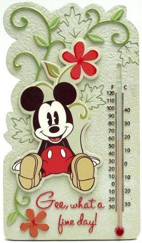 Disney Mickey Mouse Thermometer Indoor Outdoor Russ Berrie http://www.amazon.com/dp/B003B4N3X8/ref=cm_sw_r_pi_dp_lCzpvb1WEAATZ