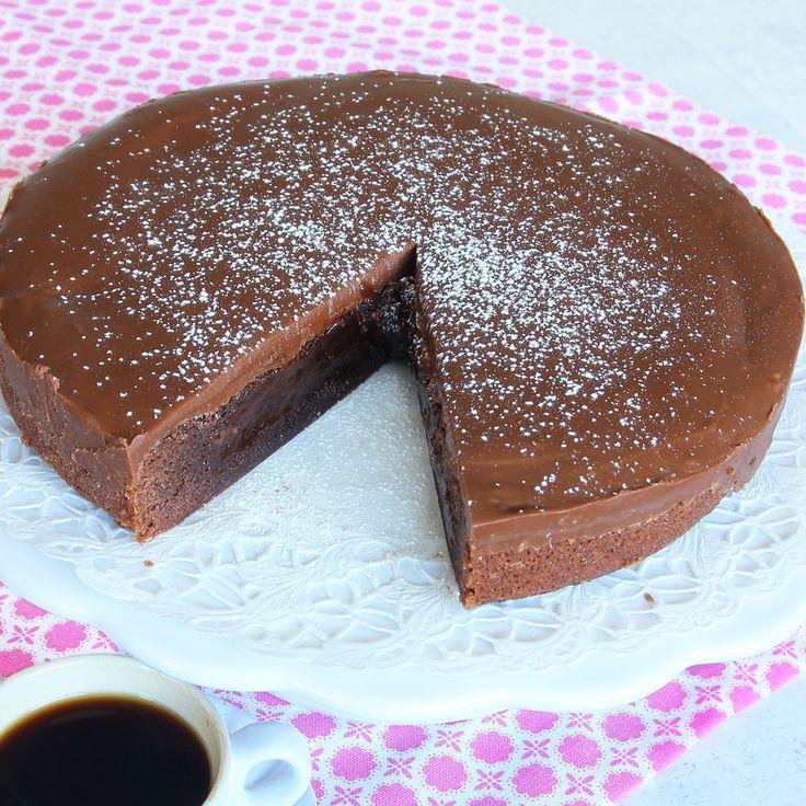 Chokladkolakladdtårta – Lindas Bakskola