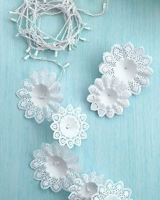 Snowflake Lights | Step-by-Step | DIY Craft How To's and Instructions| Martha Stewart