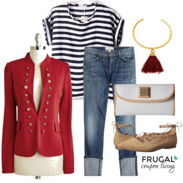 Frugal Fashion Friday Fall Blazer Outfit - Fall Fashion, what to wear in Fall on Frugal Coupon Living.