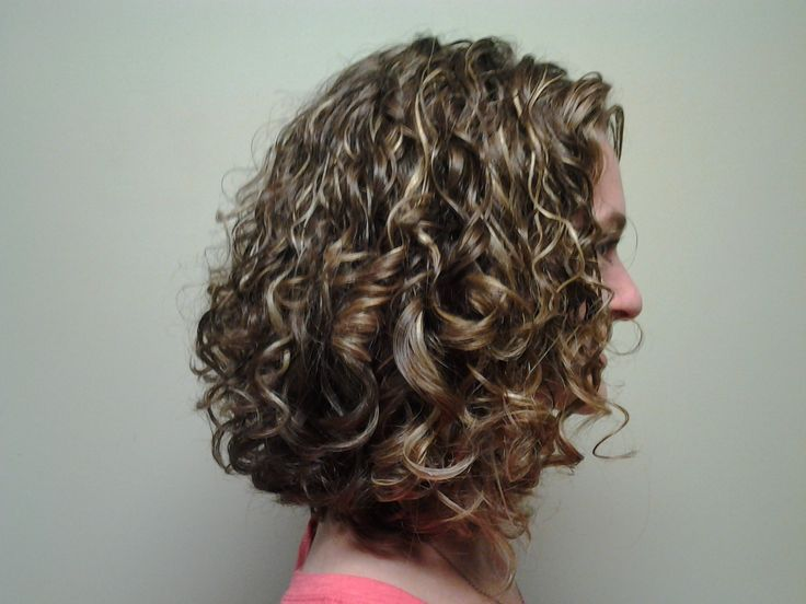 This Curl Cut Was Done With Hands And Scissors...no Comb