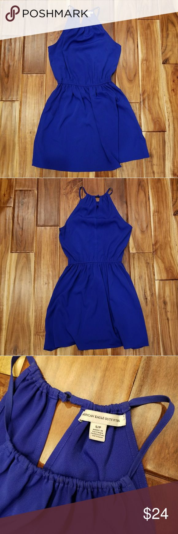 American Eagle Outfitters Strapless Dress American Eagle Outfitters Strapless Dress. Great condition! Key hole back. Elastic waist band. No trades, offers welcome! American Eagle Outfitters Dresses Midi #americaneagleoutfitters