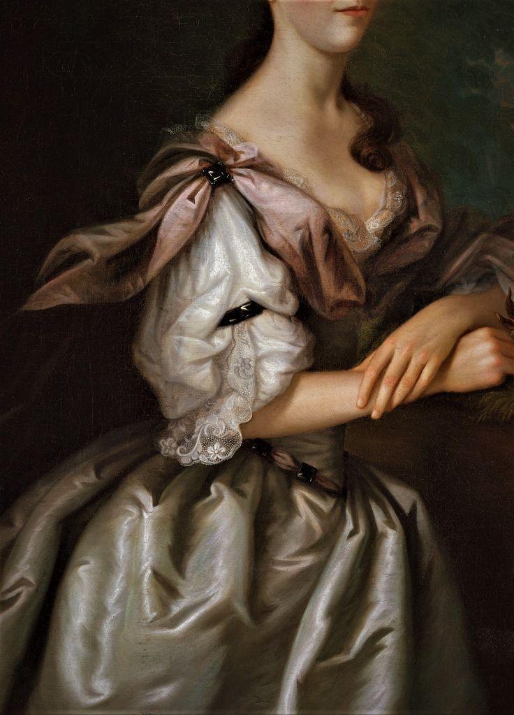 Portrait of Mrs Samuel Cutts by Joseph Blackburn, 1762-63