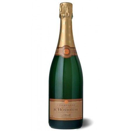 Champagne Hostomme Grande Réserve Blanc de Blancs Grand Cru - trockener #Schaumwein #Perlwein aus der #Champagne #Frankreich. Perfekter #Aperitif zu besonderen Anlässen.