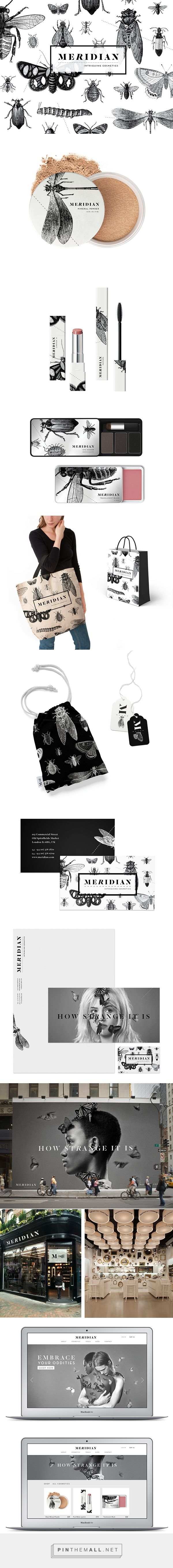 Meridian Cosmetics Branding and Packaging by Sally Carmichael on Behance   Fivestar Branding – Design and Branding Agency & Inspiration Gallery