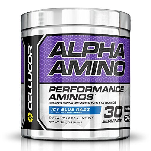 Cellucor Alpha Amino Acid Supplement with BCAA, Icy Blue Razz, 13.54 Ounce (30 Servings) -- You can get additional details at http://www.amazon.com/gp/product/B00VAS1VRW/?tag=homeimprtip08-20&pop=100816034316