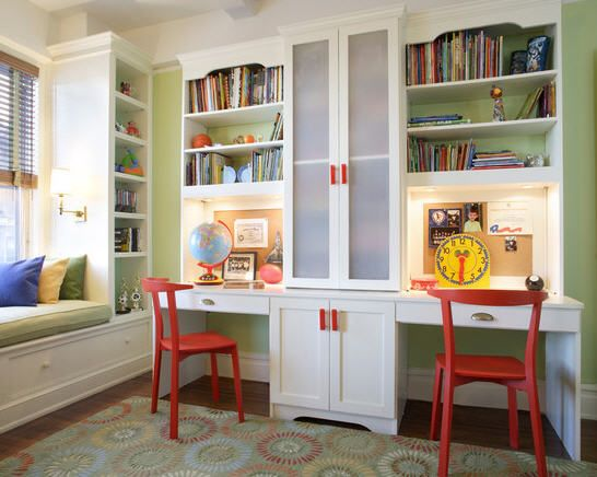 Nice for computer stations ~ Kids' study area
