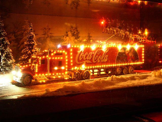 die besten 25 weihnachten coca cola ideen auf pinterest. Black Bedroom Furniture Sets. Home Design Ideas