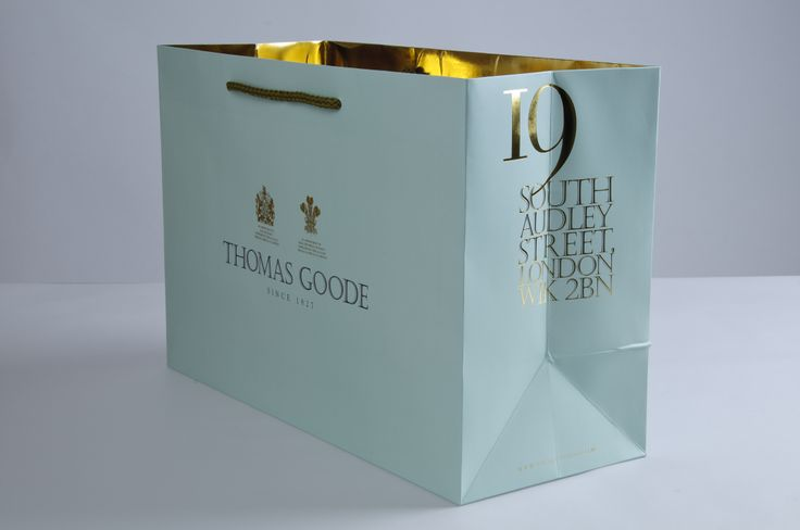 http://www.oysteruk.com Based in the heart of Mayfair with traditions going back generations, Thomas Goode selected Oyster as their preferred supplier of rigid boxes, presentation boxes, tissue paper and carrier bags.  Oyster Retail Packaging Limited 9 Vision Business Park Firth Way Nottingham NG6 8GF 0115 927 2800