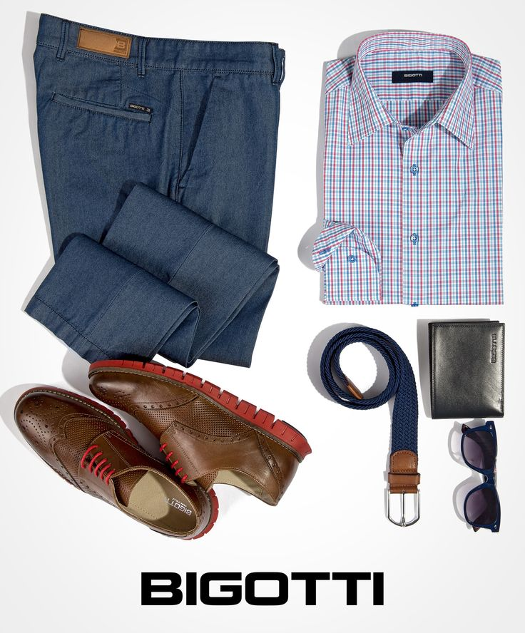 The #Bigotti #denim #effect #chinos are #perfect for your #smart #casual #outfits www.bigotti.ro #mensfashion #pantaloni #ootdmen #moda #barbati #Bigottiromania #ootd #casualFriday #smartcasualinspiration #menswear #mensclothing #mensstyle #follow