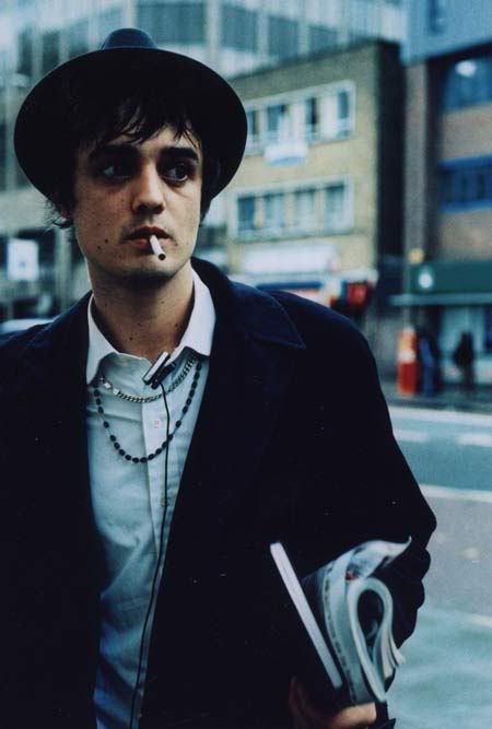 Pete Doherty is an artist that represents the kind of idea that I have for my front cover of my magazine if I use a male as my model. This is because he is a very alternative/grunge/rough looking singer and this is good for my genre.