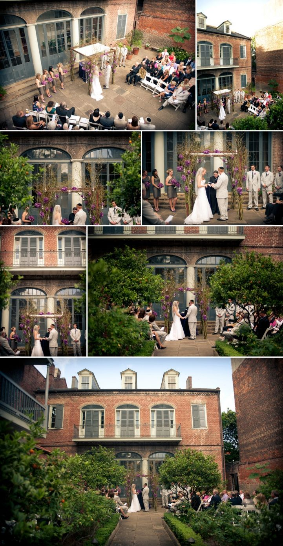 Stacy + Jonathan :: New Orleans Wedding :: Hermann Grima House
