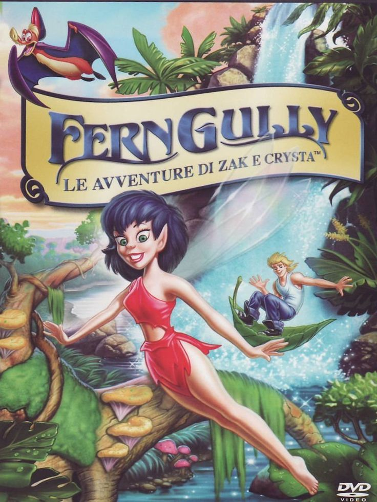 Ferngully_Dvd cover Ita (768×1024)