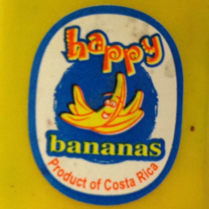 Happy bananas