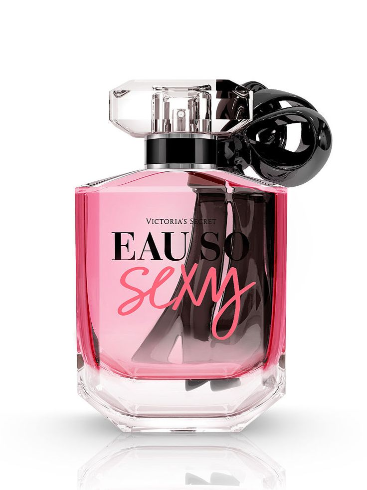 Eau So Sexy explores your most playful side. Fresh, flirty & forever young. Iconic & sexy cool. // Victoria's Secret Eau de Parfum