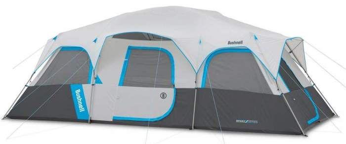 Bushnell Sport Series 12 Person Cabin Tent 20 X 10 Ft 3 Rooms En 2020