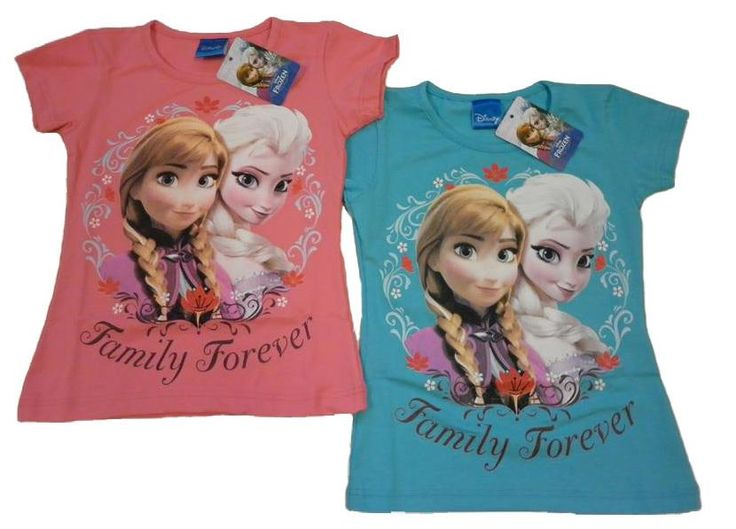 Tshirt con Anna ed Elsa di Frozen originale della Disney
